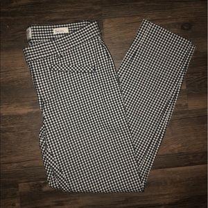 Gap checkered pants